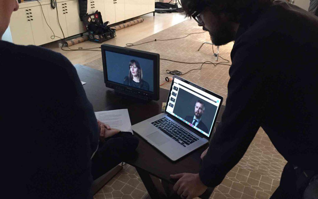 Kibitzing in Video Village