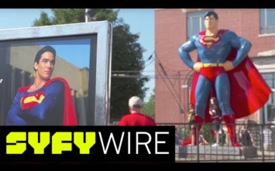 Atlantic and Syfy Wire Tour Superman's Metropolis