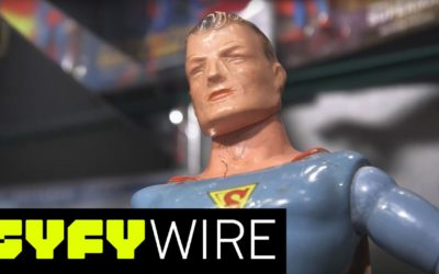 Atlantic and Syfy Wire Visit the Hall of Heroes