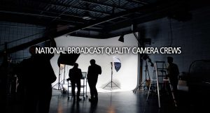 National Broadcast Quality Camera Crews Atlantic Television