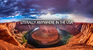Anywhere in the United States of America Atlantic Television