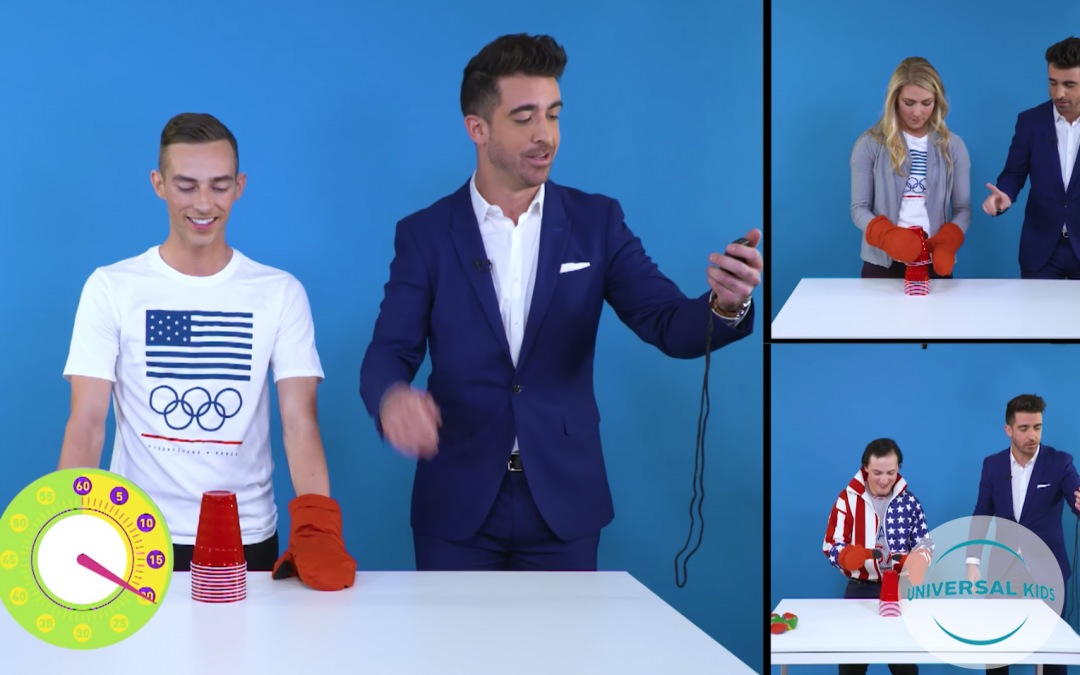 Atlantic and Universal Kids Do Press for 2018 Winter Olympics