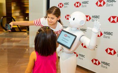 "Atlantic Captures HSBC's ""Pepper"" Launch"