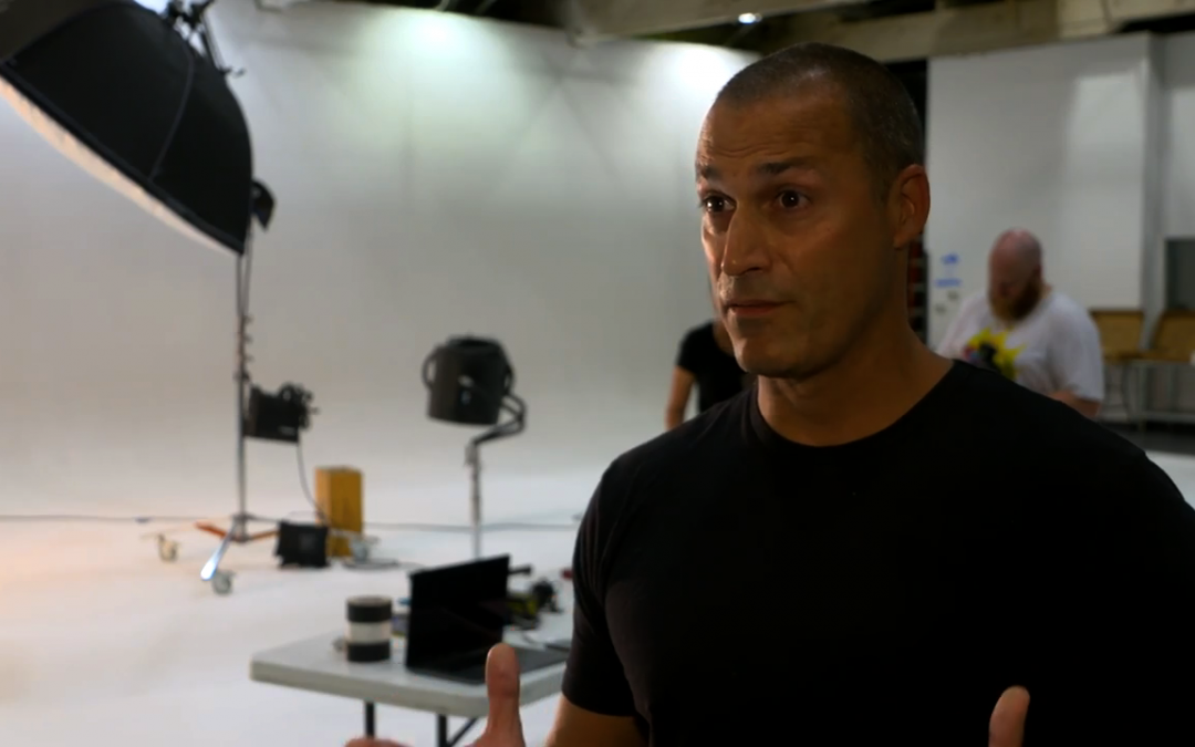 Atlantic Captures Nigel Barker Shoot At NY Fashion Week 2018