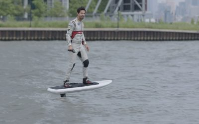 Atlantic & Formula E Take To The Hudson With Audi