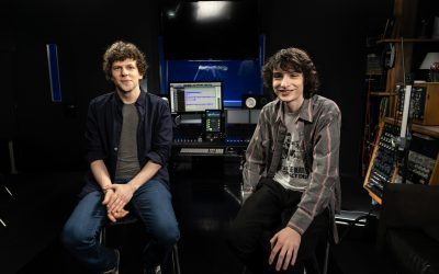 Atlantic Interviews Jesse Eisenberg, Finn Wolfhard for Audible Promos